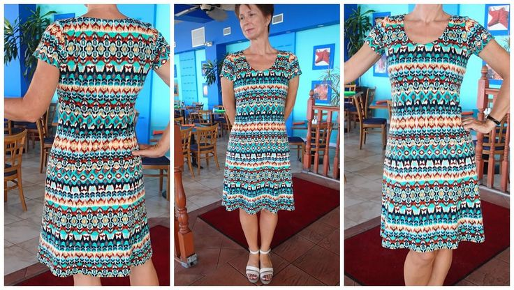 Sewing Patterns For Knits : How to sew a knit fit and flare dress - free pattern Sewing videos Pinter...