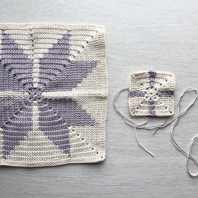 mobiusgirl crochet tapestry squares