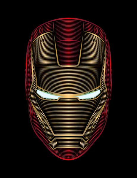 Iron Man Art Print by Nathan Owens
