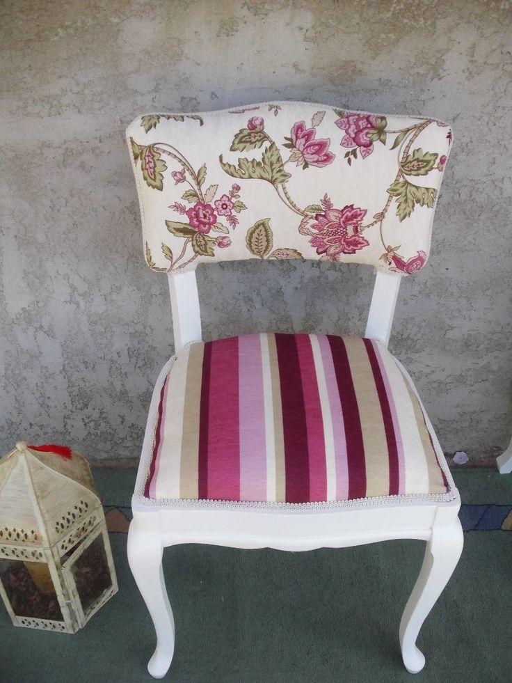M s de 25 ideas incre bles sobre sillas restauradas en for Sillas con apoyabrazos tapizadas