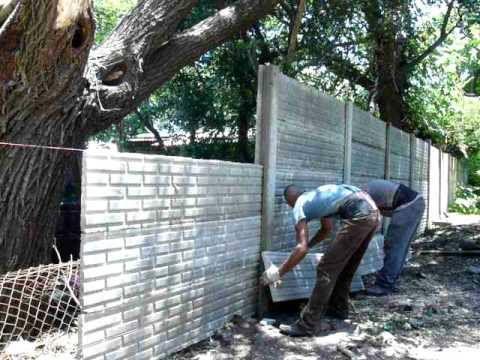 paredes hechas con bloques premoldeados