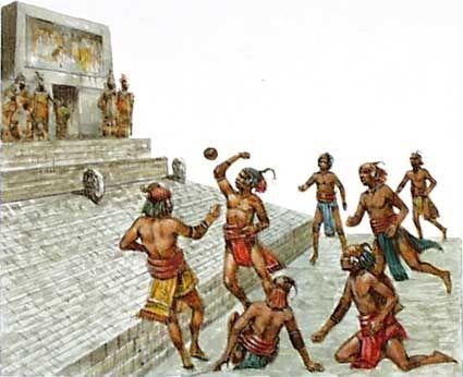 Tlachtli = fútbol en Inca El fútbol ha sido jugado en la región desde la época de los Incas. Ellos practicaban el juego de pelota que era muy similar.