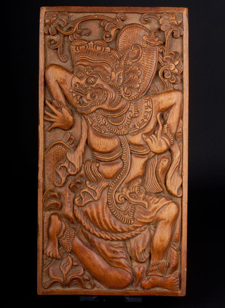 Description Carved wood cigarette box, Indonesia  Date Mid-20th century  www.collectorstrade.de