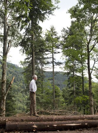 Thomas Dinesen in the Black Forest