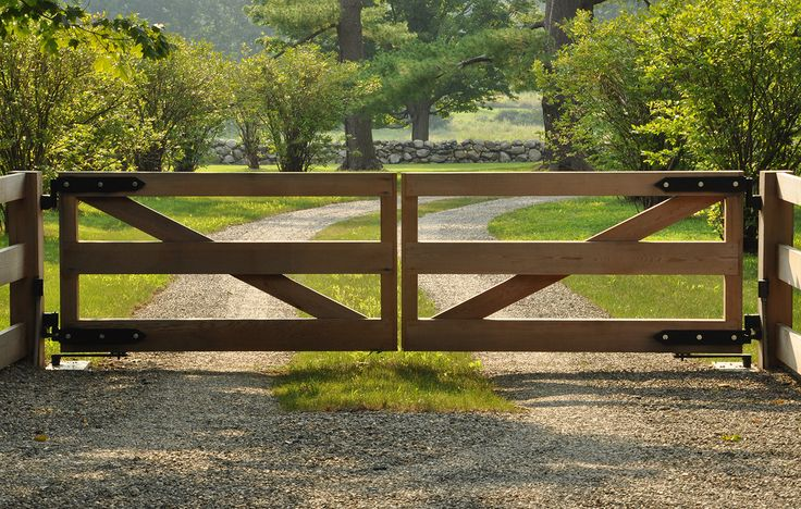 Landscape Designers - Greenwich, CT - Doyle Herman Design Associates Love the gates....