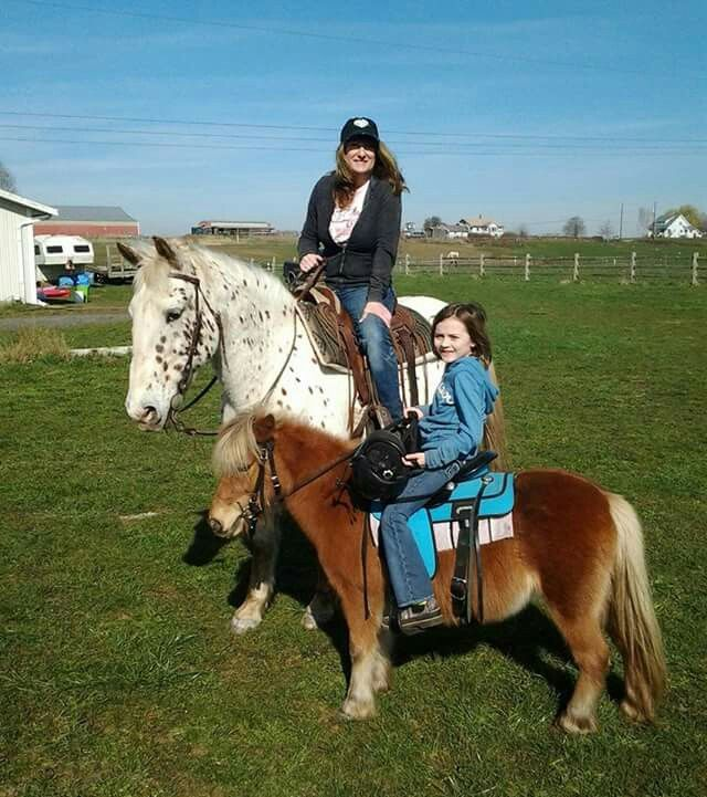 Enjoyed a beautiful day riding with my youngest daughter, today.