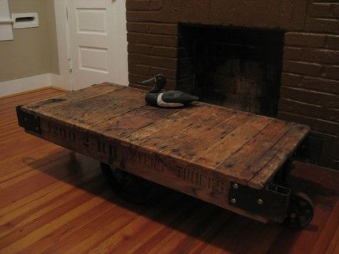 110 best antique cart coffee tables images on pinterest
