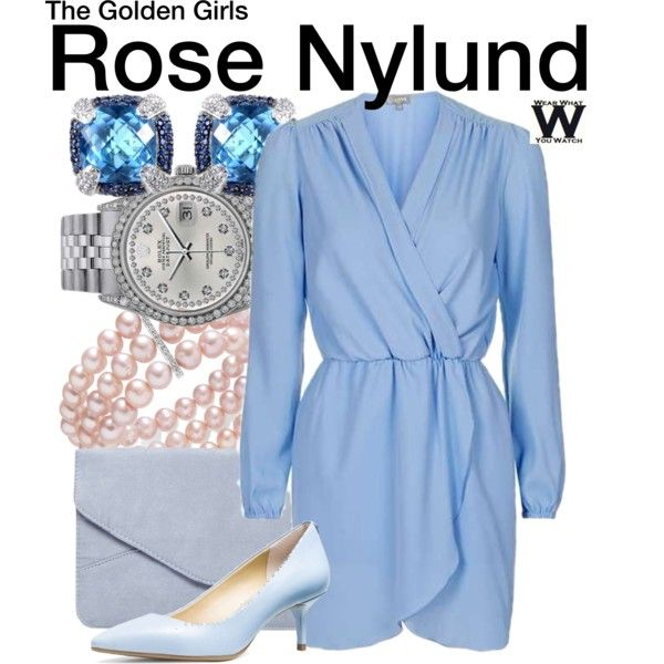 Inspired by Betty White as Rose Nylund on The Golden Girls.