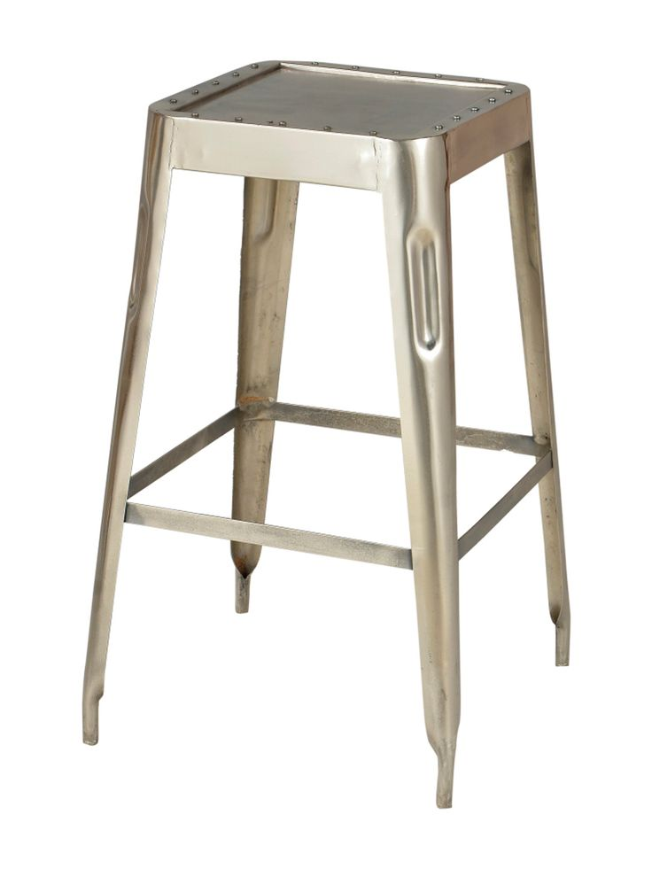 Lovely Modern Industrial Large Stools (Set Of 4) By Bois Et Cuir By CDI Intl Amazing Pictures