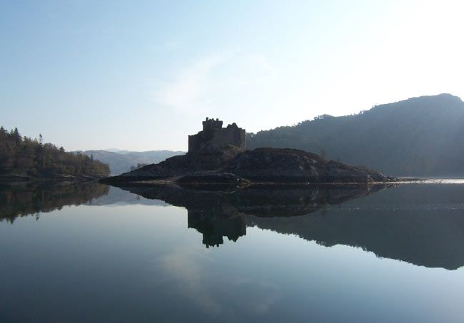 Castle Tioram, Scotland | good website for cottage hire