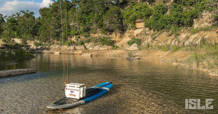 ISLE Standup Paddle Gllider Boerne Lake Texas