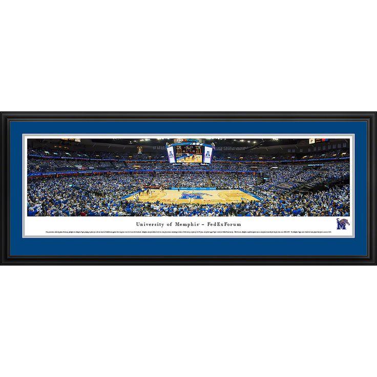 Worldwide Blakeway Panoramas Memphis Basketball FedEx Forum Framed Print