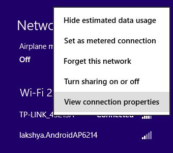 Know how to see or know your #WiFi #password from already connected #Windows 8 desktops or laptops, PC. Grab password without resetting or re-configuring your Modem.