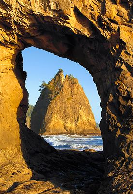 Hole-in-the-Wall, Rialto Beach, Olympic National Park