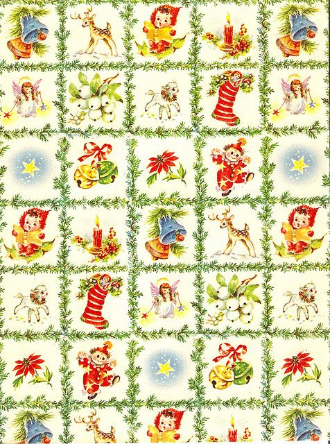 Vintage Wrapping Paper | Flickr - Photo Sharing!