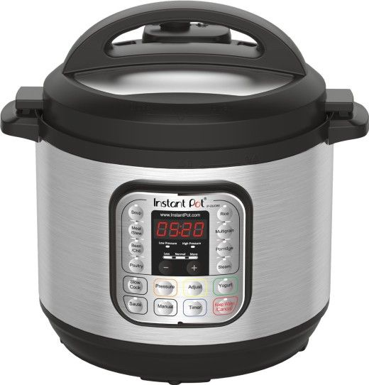 8 quart Instant Pot - I currently have the 6 quart and would definitely love to have the 8 quart as well!
