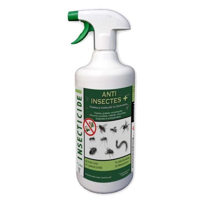 Spray Anti Insectes En Bidon De 1 Litre En 2020 Anti Insecte Insectes Volants Insectes