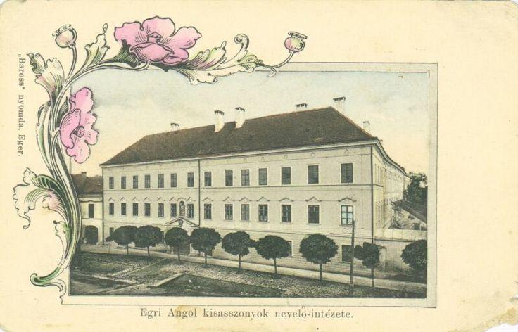 Egri Angolkisasszonyok nevelő-intézete | Heves Megyei Elektronikus Könyvtár