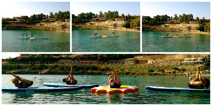 Save your seat for an awesome SUP yoga class with Nefeli Stamouli at Loutraki beach, Chania Crete on our Mistral boards.  http://paddleboardyoga.net/
