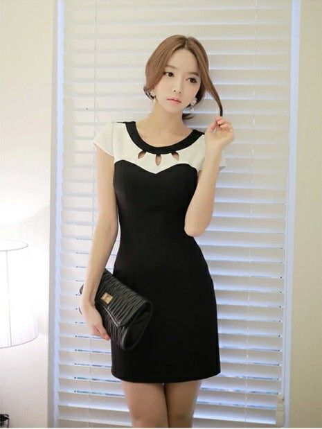 Dress Korea - CC50579BM (Size M-L-XL)  Rp 116.000,-