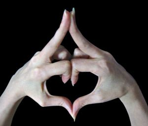 Kalesvara Mudra. Love Yourself Love the World Around You It's in Your Hands.......