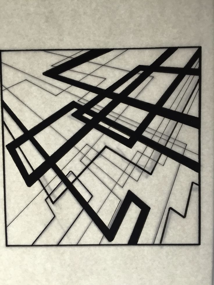 Composition with lines