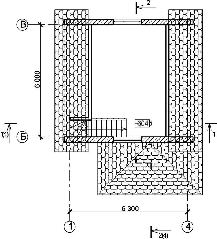 Автоклавный газобетон. Проекты домов. Проект № 7.