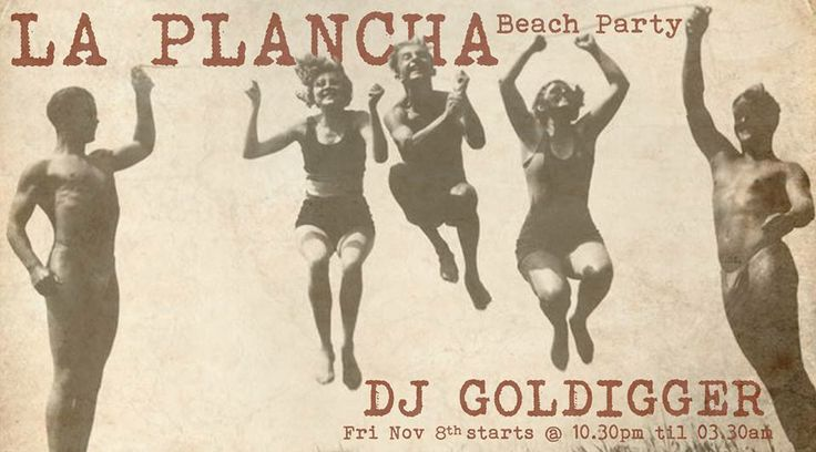 Beach party at La Plancha @ Double six beach #bali