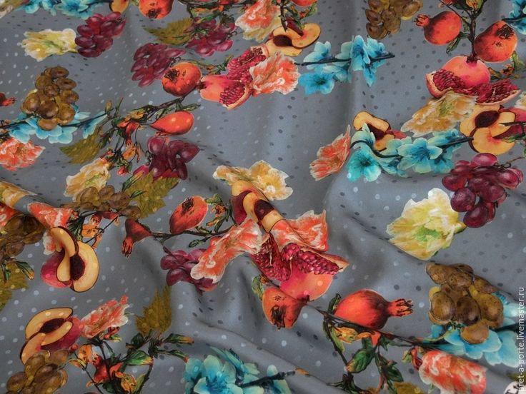 Купить -20% Alta moda жаккард шелковый , Италия в интернет магазине на Ярмарке Мастеров
