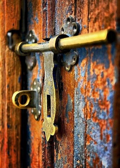 I thought how unpleasant it is to be locked out; and I thought how it is worse, perhaps, to be locked in.  Virginia Woolf