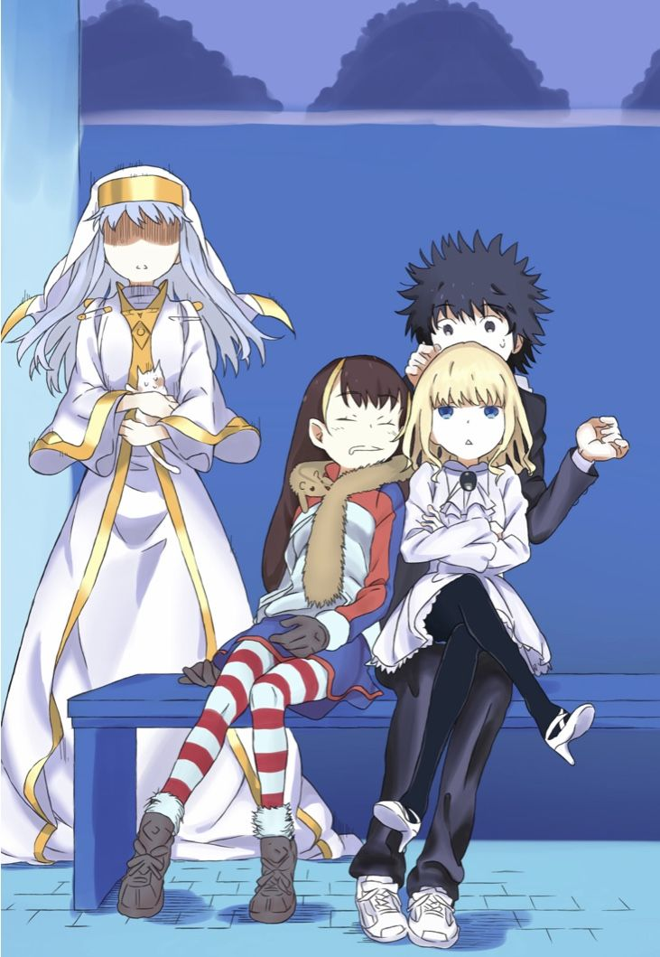 Anime Characters Image By Merci On Index Railgun Accelerator