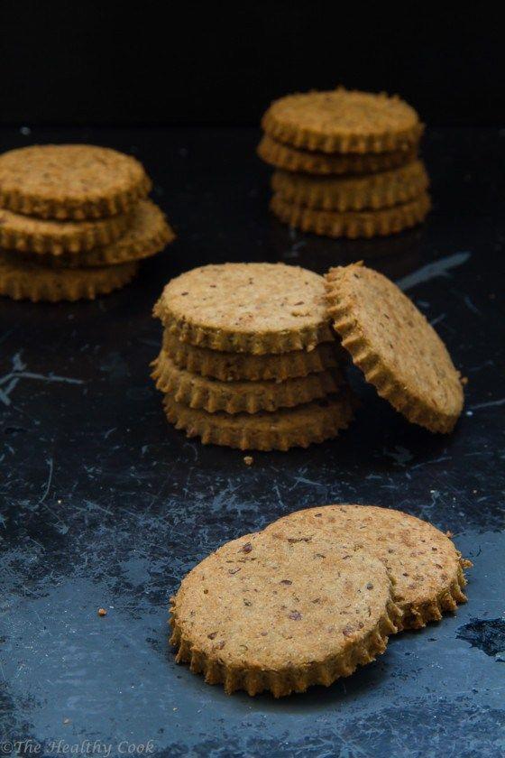 Μπισκότα Digestive Χωρίς Γλουτένη – Gluten-Free Digestive Cookies