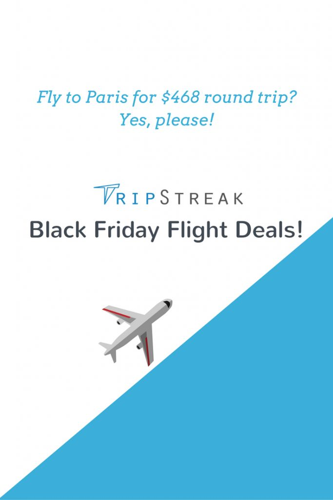 Black Friday Flight Deals | Click to find sample fares for your next vacation!