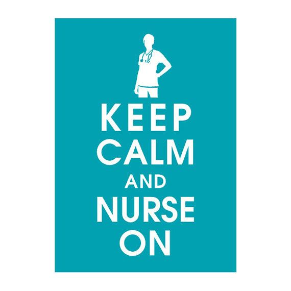 On my way to becoming a nurse <3