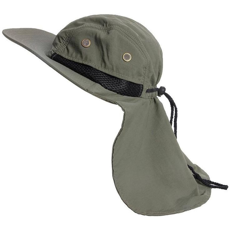 Wide Brim Bucket Sun Flap Hat with Neck Cover – OPSGEAR
