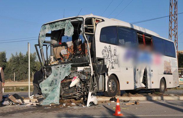 Hatay Otobüs Firması Kaza Yaptı: 2 Ölü