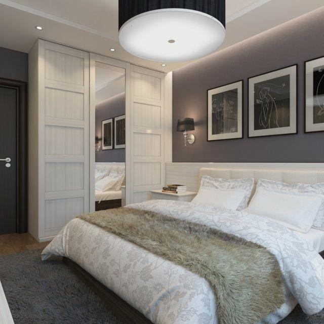 Chambre grise: déco et aménagement splendides en 77 idées!