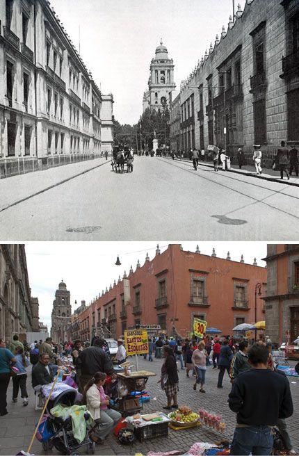 Calle moneda centro hist rico df la ciudad de ayer y for Sanborns centro historico df