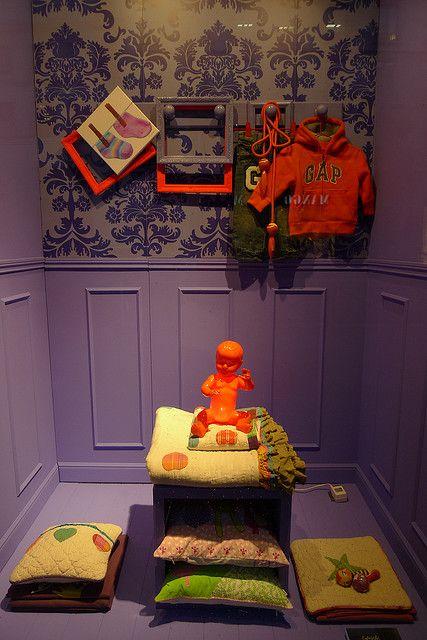 the kids room, pinned by Ton van der Veer