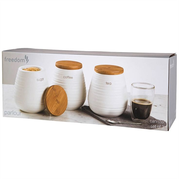 Kitchenware - Parlour Canister Set of 3