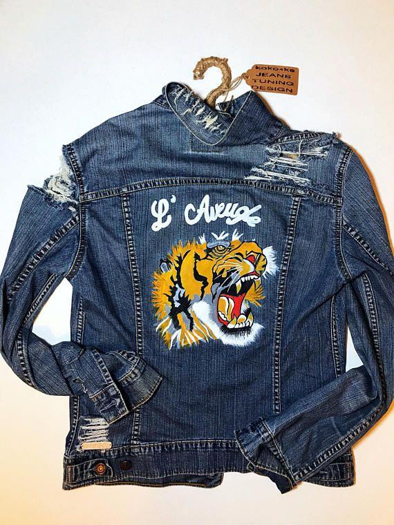 Best 25 Painted Denim Jacket Ideas On Pinterest Painted