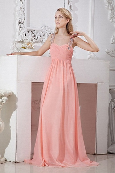 Chiffon Elegant Sweetheart Prom Gown wr1800 - http://www.weddingrobe.co.uk/chiffon-elegant-sweetheart-prom-gown-wr1800.html - NECKLINE: Sweetheart. FABRIC: Chiffon. SLEEVE: Sleeveless. COLOR: Orange. SILHOUETTE: Sheath/Column. - 132.59
