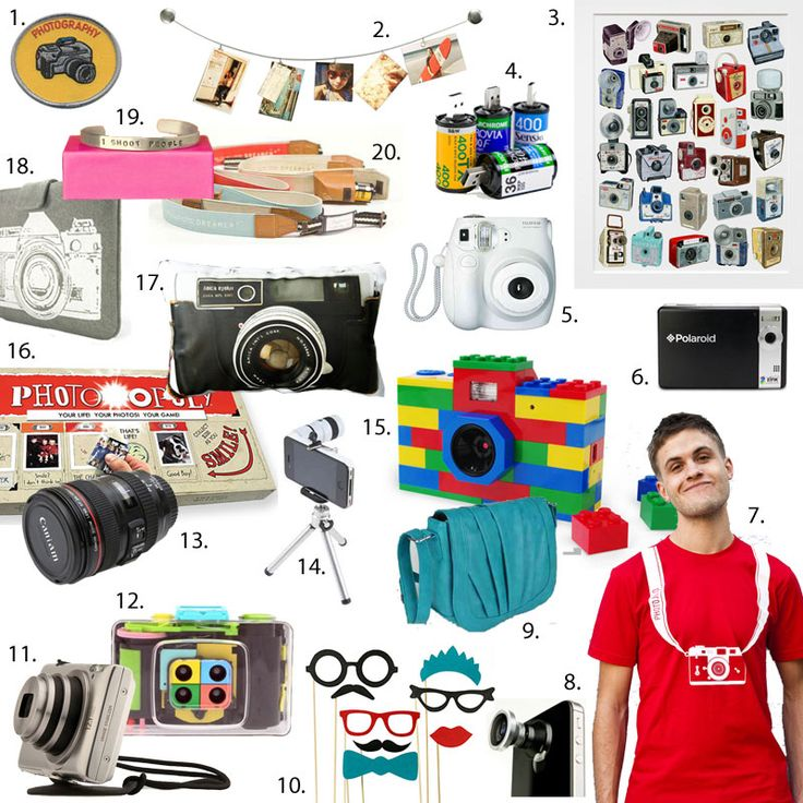 20 Must-Haves for the Modern Photographer - Brit & Co. - Living | This site's awesome!