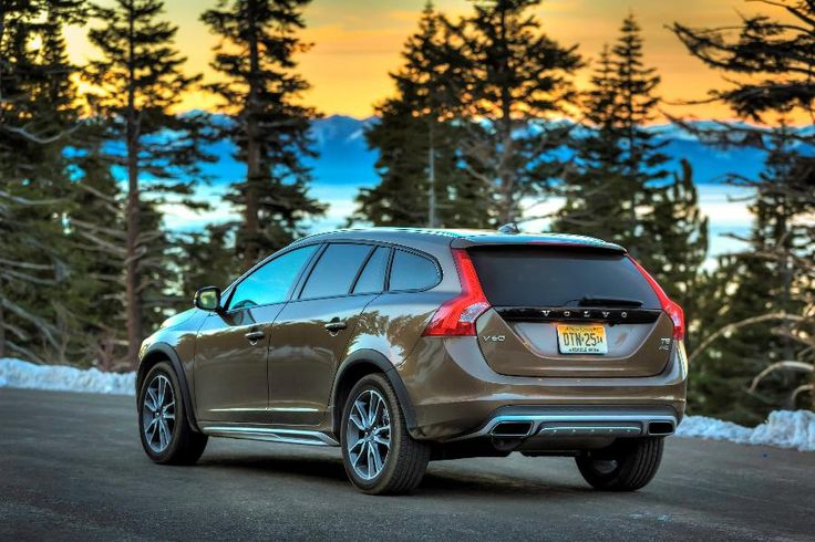 "S60 Volvo sedan and V60 wagons are designated 2016 IIHS ""Top Safety Pick +"" with their standard ""Superior"" rated frontal collision auto braking systems."