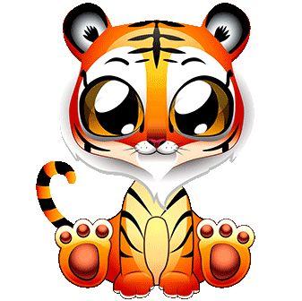 potisk tygr, originální motiv na tričko,T-ART.CZ, tiger illustration  child design t-shirt