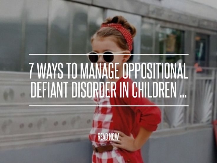7. Get Support - 7 Ways to Manage Oppositional Defiant Disorder in Children ... → Parenting