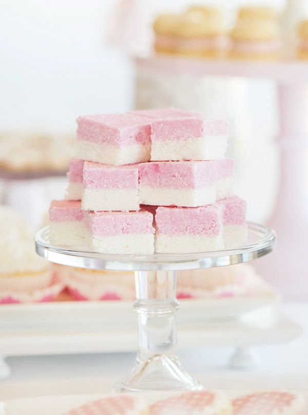 Dreamy Pink Dessert Table (Butterflies & Polka Dots) // Hostess with the ...
