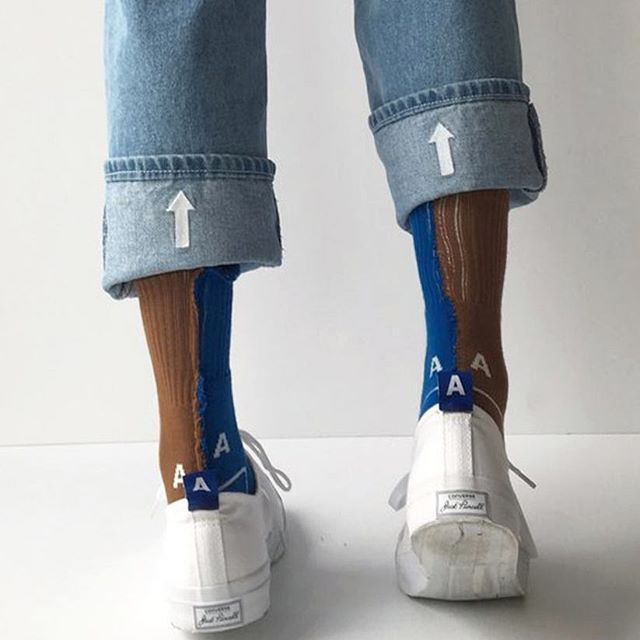 Arrow denim pants #ader#adererror#socks
