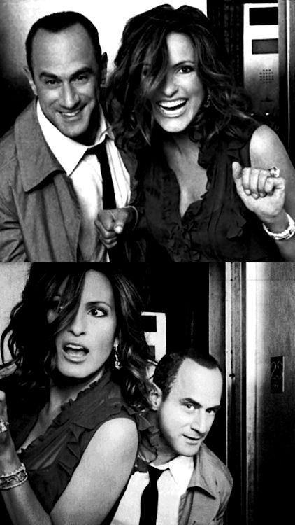 Christopher Meloni & Mariska Hargitay| Law and Order SVU