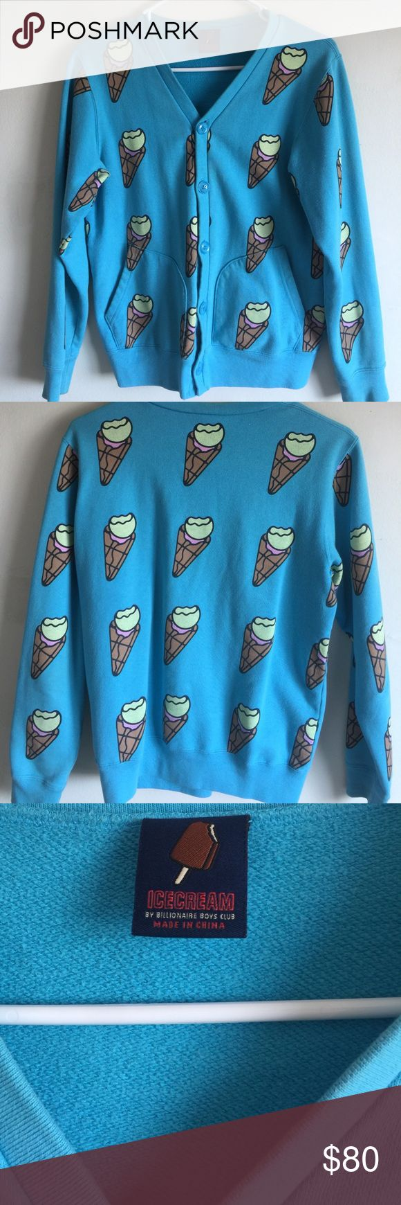 Billionaire Boys Club/Ice Cream coat This piece was from 2010, you can only get this from BBC flagshop in NYC. And this Blue and Ice Cream pattern is right for summer Billionaire Boys Club Jackets & Coats Trench Coats